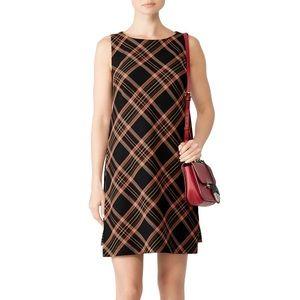Trina Turk Brynne 2 Plaid Shift Dress